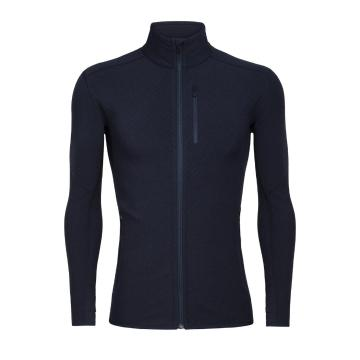 Icebreaker Men's Descender Long Sleeve Zip