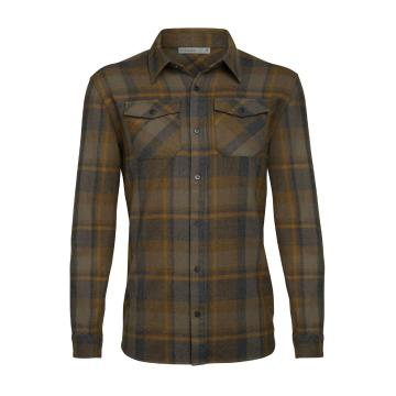 Icebreaker Men's Lodge Long Sleeve Flannel Shirt