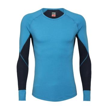 Icebreaker Men's 260 Zone Long Sleeve Crewe - Polar