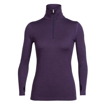 Icebreaker Merino Women's Long Sleeve Half Zip Tech Top