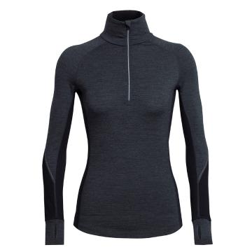 Icebreaker Merino Women's Winter Zone Long Sleeve Half Zip