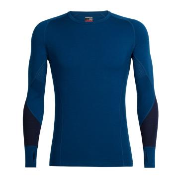 Icebreaker Merino Men's Winter Zone Long Sleeve Crewe