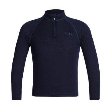 Icebreaker Youth Compass Long Sleeve Half Zip