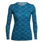 Icebreaker Merino Women's Diamond Line Oasis Long Sleeve Crew