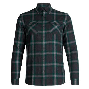 Icebreaker Men's Lodge Long Sleeve FlannlShrt
