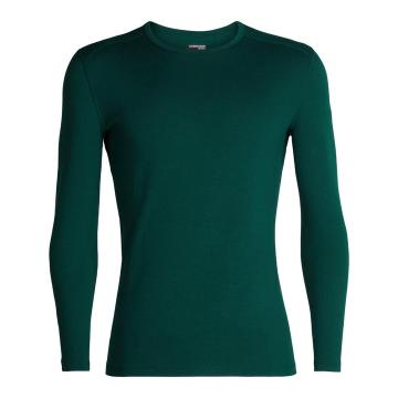 Icebreaker Men's 260 Tech Long Sleeve Crew - DK PINE