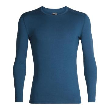 Icebreaker Men's 260 Tech Long Sleeve Crew - Prussian Blue