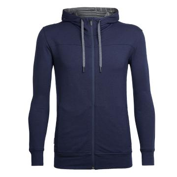 Icebreaker Merino Men's Shifter Long Sleeve Zip Hoodie