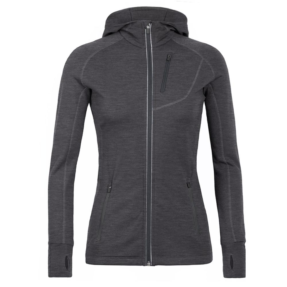 Merino Women's Quantum Long Sleeve Zip Hood