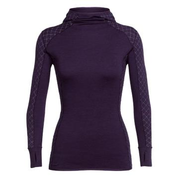 Icebreaker Women's Affinity Thermo Hooded Pullover