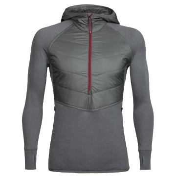 Icebreaker Mens Ellipse LS HZ Hood
