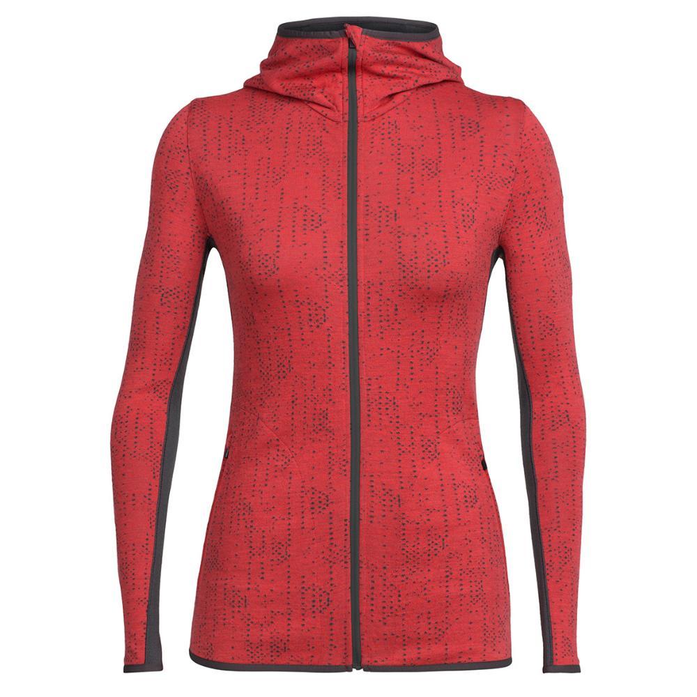 Womens Away Long Sleeve Zip Hood Shwrs