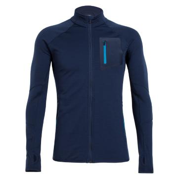 Icebreaker Merino Men's Atom Long Sleeve Zip Top