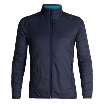 Icebreaker Men's Hyperia Lite Hybrid Jacket - Midnight Navy/Alpine