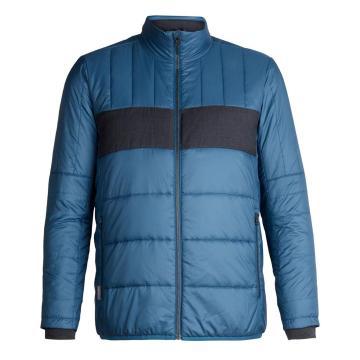 Icebreaker Men's Stratus X Jacket - Prussian Blue/Jet Hthr