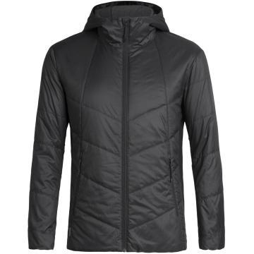 Icebreaker Men's Helix Hooded Jacket - Black