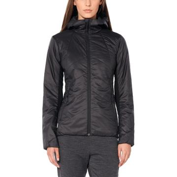 Icebreaker Women's Helix Hooded Jacket - Black