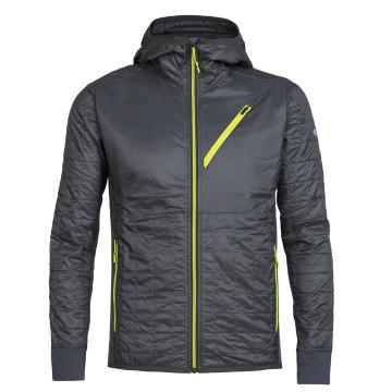 Icebreaker Men's Helix Long Sleeve Zip Hooded Jacket