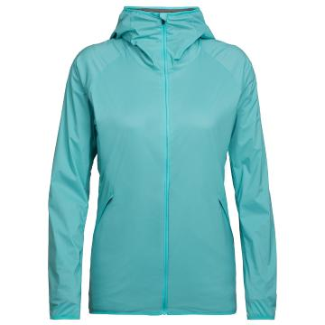 Icebreaker Womens Coriolis Hooded Windbreaker