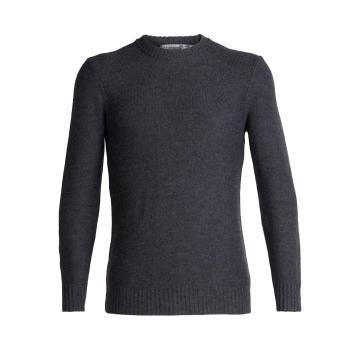Icebreaker Men's Waypoint Crewe Sweater - CHAR HTHR