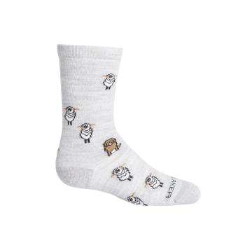Icebreaker Kids' Lifestyle Ultralight Crew Sheep Herding Socks