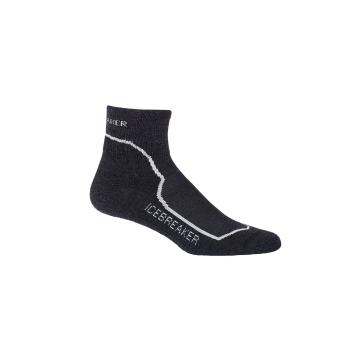 Icebreaker Women's Hike+ Light Mini Socks - Jet HTHR