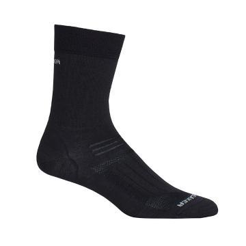 Icebreaker Merino Women's Hike Ultra Light Liner Crew Socks - Black