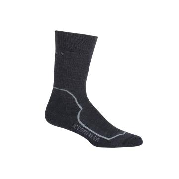 Icebreaker Women's Hike+ Heavy Crew Socks - Jet HTHR/Twister HTHR/Black