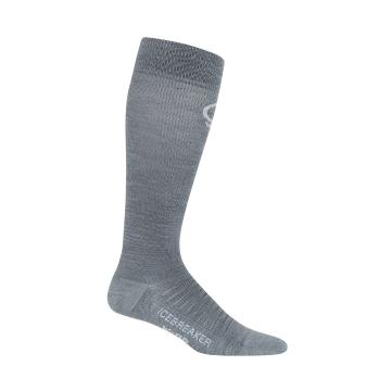 Icebreaker Women's Ski+Compression Ultralight OTC Socks - Twister HTHR/Monsoon