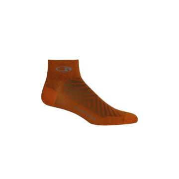 Icebreaker Men's Run+ Ultralight Mini Socks - Spice