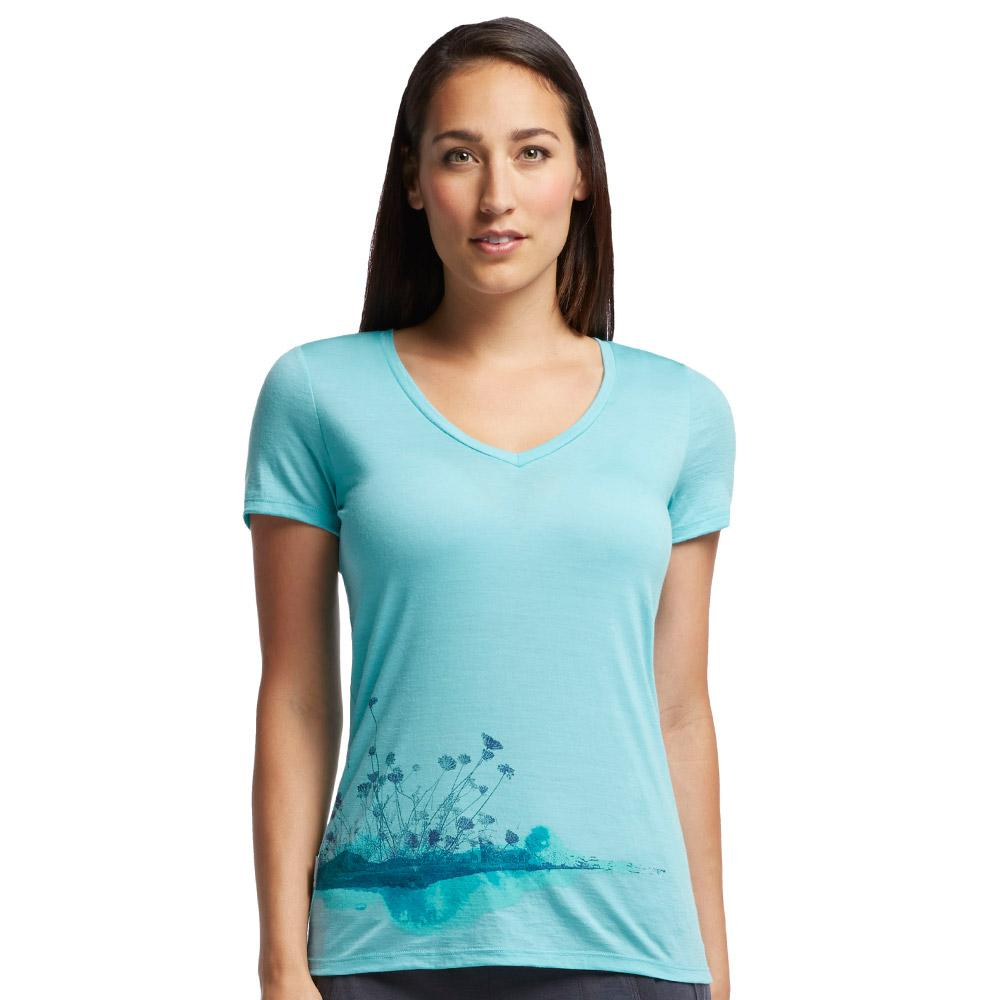 Merino Women's Tech Lite SS V Lace Tee
