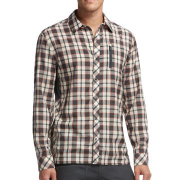 Icebreaker Merino Men's Compass II LS Shirt Plaid