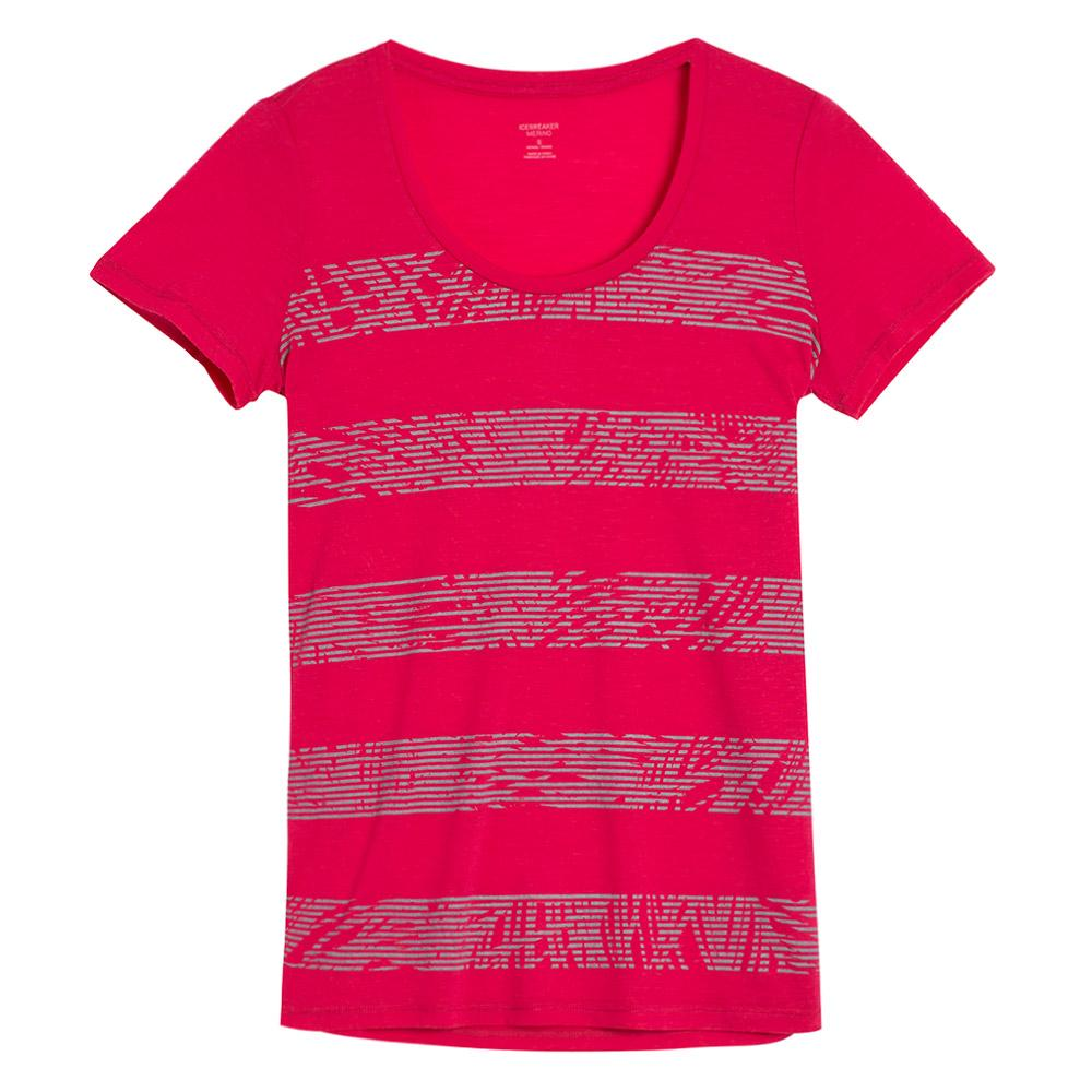 Merino Women's Tech Lite Short Sleeve Scoop Tee - Palm Slice