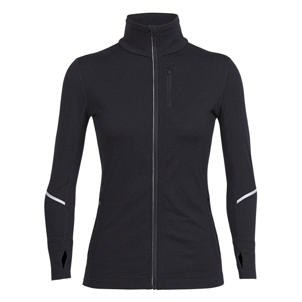Merino Women's Rush Long Sleeve Zip Jersey