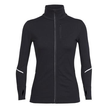 Icebreaker Merino Women's Rush Long Sleeve Zip Jersey
