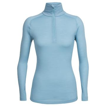 Icebreaker Womens Zeal Long Sleeve Half Zip