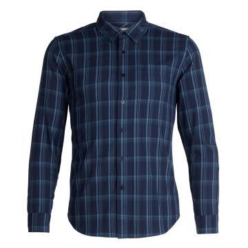 Icebreaker Men's Compas Flannel Long Sleeve Shrt
