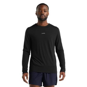 Icebreaker Men's ZoneKnit Long Sleeve Tee - Black