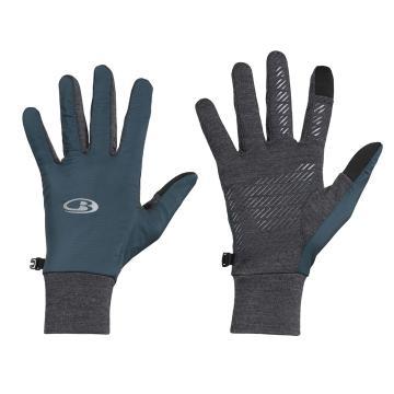 Icebreaker Adult Tech Trainer Hybrid Gloves - NIGHTFALL/Jet HTHR