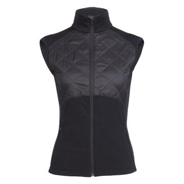 Icebreaker Women's Ellipse Vest - Black
