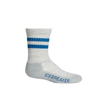 Icebreaker Kids Hike Light Crew Socks - Metro