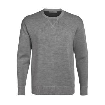 Icebreaker Men's Nova Sweater Sweatshirt - Gritstone HTHR