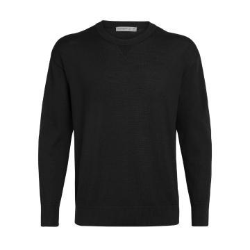 Icebreaker Men's Nova Sweater Sweatshirt - Black