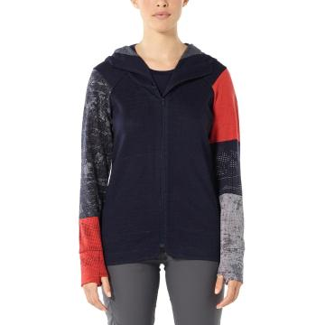 Icebreaker Women's Away II Long Sleeve Zip Hood