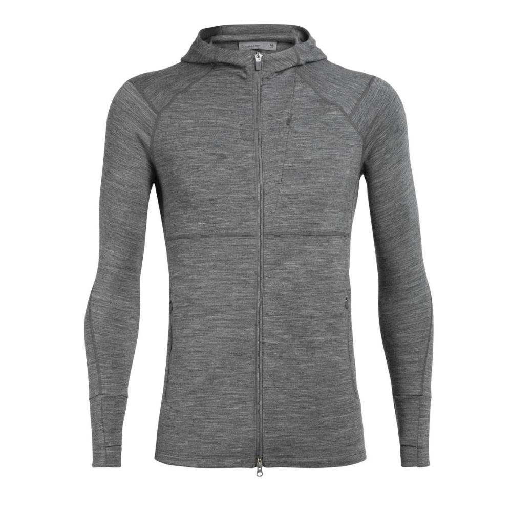 Men's Quantum II Long Sleeve Zip Hood