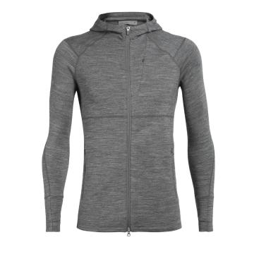 Icebreaker Men's Quantum II Long Sleeve Zip Hood