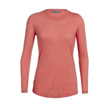 Icebreaker Women's Sphere Long Sleeve Low Crewe