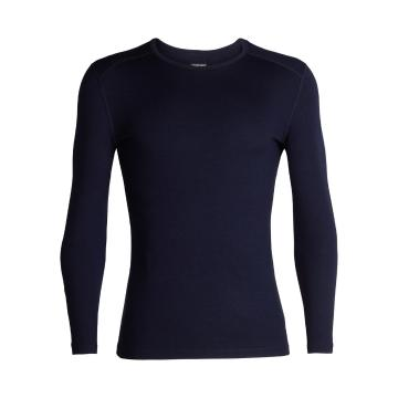Icebreaker Men's 260 Tech Long Sleeve Crewe - Midnight Navy
