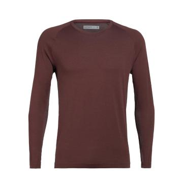 Icebreaker Men's Motion Seamless Long Sleeve Crewe - Port Royale