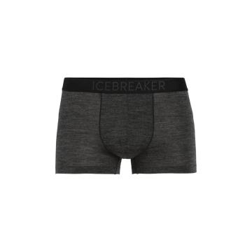 Icebreaker Men's Anatomica Cool-Lite Trunks - Black HTHR